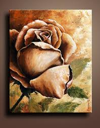 how to paint a simple rose acrylic best flowers and rose 2017