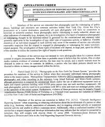 police reports template nyc police operations order regarding photography a photo editor nyc police operations order regarding photography