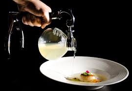 cuisine siphon scallops with dashi made at the table molecular recipes