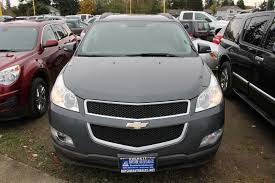 used 2011 chevrolet traverse lt awd everett wa bayside auto sales