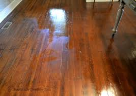 shine dull floors in minutes chaotically creative