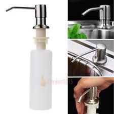 Soap Dispensers For Kitchen Sink by Sink Soap Dispenser Ebay