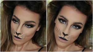Cat Whiskers For Halloween Makeup by Cat Halloween Makeup Tutorial Amys Makeup Box Youtube