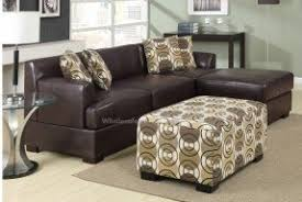 Small Leather Sectional Sofas Small Leather Sectional Sofa Foter