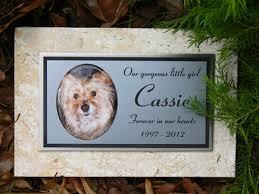 dog caskets grave markers fossil limestone pet memorials memorial plaques