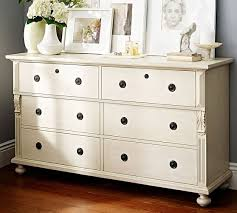 Stratton Pottery Barn Sofia Extra Wide Dresser Pottery Barn In Pottery Barn White