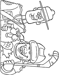 hockey coloring pages u2013 birthday printable