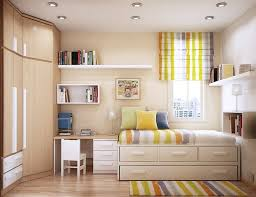 Bedroom With Area Rug Apartments Creative Small Bedroom With Foldable Furniture For