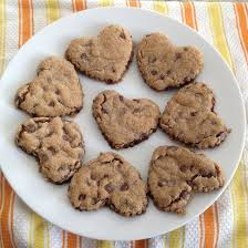heart shaped cookies heart shaped whole wheat chocolate chip cookies recipe
