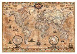 One Piece World Map Old World Map Jigsaw Puzzle Jigsaw Puzzles For Adults