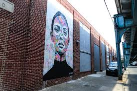 beautiful new ant carver mural on front street in fishtown about a month ago london based artist ant carver emailed me looking for walls in philly he said he d be coming through town and would love to get his