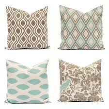 Seafoam Green Home Decor Couch Pillow Covers Sofa Pillows Seafoam Green By Festivehomedecor