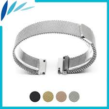 silver rolex bracelet images Stainless steel watch band 18mm 20mm 22mm for rolex magnetic clasp jpg