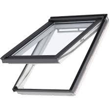 projection roof window wooden aluminum double glazed velux