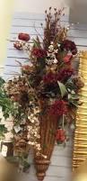 Wall Sconce Floral Arrangements 78 Best Wall Flower Arrangments Images On Pinterest Silk Flowers