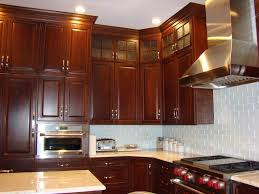 dark cherry kitchen kitchen asian with dark stained cabinet cherry