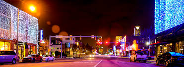 automobile alley christmas lights the commercial district that became automobile alley oklahoma city