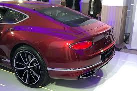 purple bentley 2018 bentley continental gt motoring research