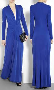 issa silk long sleeve blue maxi dress designer dresses
