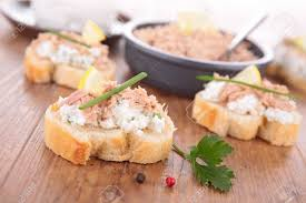 canape toast canape toast stock photo picture and royalty free image image