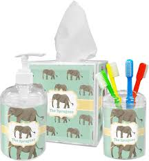 elephant tissue box cover personalized potty training concepts