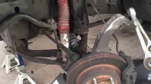 Cv Half Shaft Assembly by Half Shaft Cv Axle Install 2005 Dodge Ram 1500 4x4 Youtube