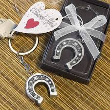 horseshoe wedding favors horseshoe keychain party favors