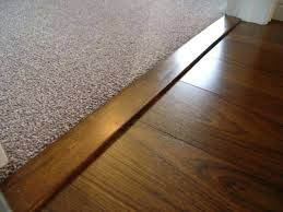 hardwood to carpet transition carpet transition on wood stairs