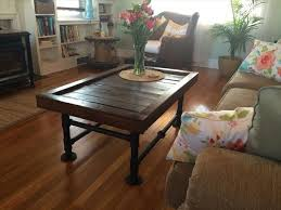 iron and pallet coffee table pallet furniture plans