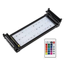 60 watt aquarium light amazon com nicrew rgb led aquarium light dimmable fish tank light