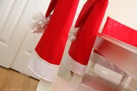 santa hat chair covers santa hat chair covers a serious bah humbug repellent make