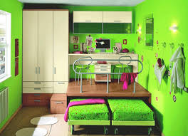 Green Paint Colors Cheerful Ideas For Painting Kids Rooms - Green color bedroom ideas