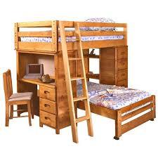 Twin Over Twin Bronco Loft Bed Nebraska Furniture Mart - Trendwood bunk beds