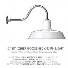 outdoor gooseneck barn lights