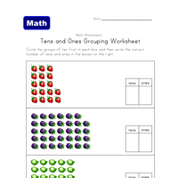 tens and units worksheets printable 10 excellent free place value worksheets all network