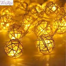 aliexpress buy fengrise 20 rattan led string