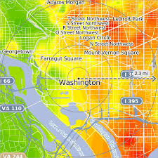 Washington Square Map by Security Gauge