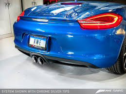 porsche boxster s exhaust introducing the awe tuning porsche boxster s cayman s performance