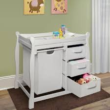 badger basket sleigh her changing table white sleigh changing table white sleigh changing table with her