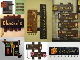 decor your home with these creative handmade name plates online