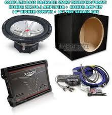 kicker 06zx2502 05cvr102 2 channel car amplifier power amp