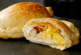breakfast empanadas with bacon and eggs recipe