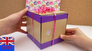 where can i buy boxes for gifts how to make this cool gift box