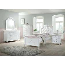 warm white youth bedroom furniture sets youth 6 piece twin bedroom