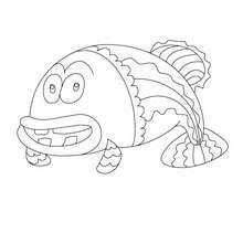 coloriages poisson d u0027avril à découper fr hellokids com