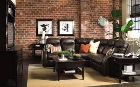 Living Room Brown Leather Sofa Fresh Impression With Living Room Brown Decor Dahlia S Home