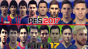 fifa 16 messi tattoo xbox 360 pes 2017 vs fifa 17 faces do messi comparison m10 youtube