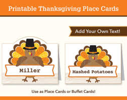 thanksgiving place cards thanksgiving labels thanksgiving