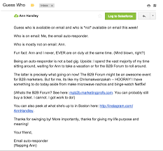 Business Follow Up Email Sample by Why Your Auto Reply Turns Off Clients