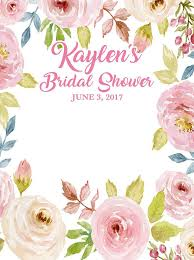 wedding backdrop font custom bridal shower backdrop pink floral background any text
